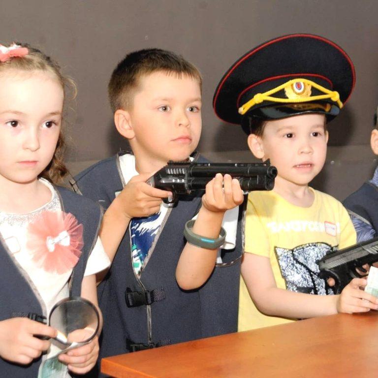 """Игровая комната """"Полиция"""" в Городе Детства"""